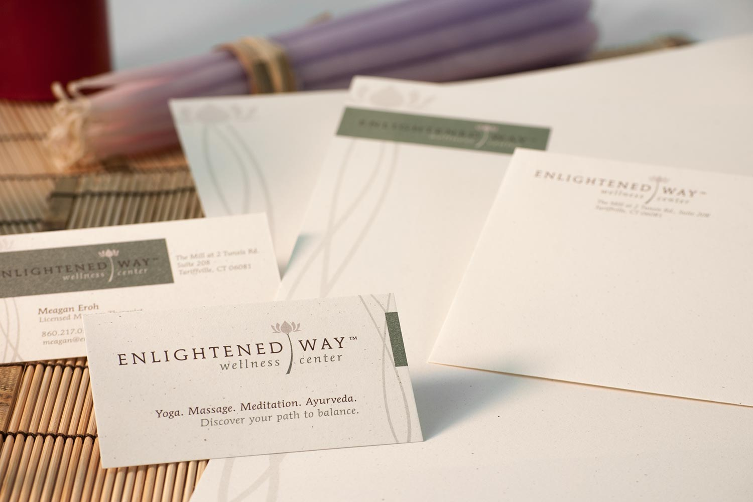 Enlightened Way Stationery